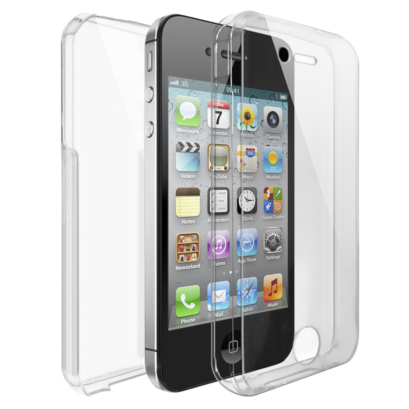 coque apple iphone 4 4s x doria defense 360 transparente. Black Bedroom Furniture Sets. Home Design Ideas