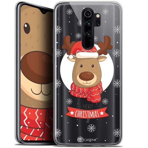 """Coque Gel Xiaomi Redmi Note 8 PRO (6.5"""") Extra Fine Noël 2017 - Cerf à Echarpe"""