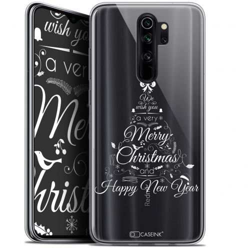 "Coque Gel Xiaomi Redmi Note 8 PRO (6.5"") Extra Fine Noël 2017 - Calligraphie"