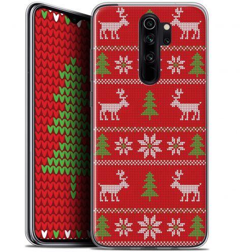 """Coque Gel Xiaomi Redmi Note 8 PRO (6.5"""") Extra Fine Noël 2017 - Couture Rouge"""