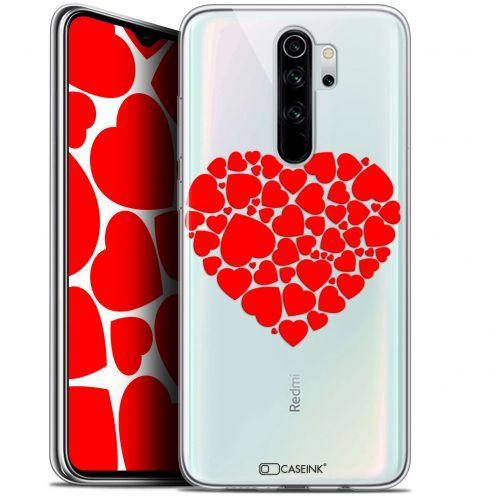 """Coque Gel Xiaomi Redmi Note 8 PRO (6.5"""") Extra Fine Love - Coeur des Coeurs"""