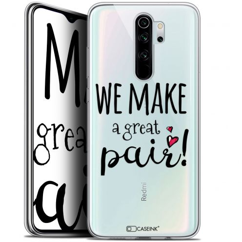 "Coque Gel Xiaomi Redmi Note 8 PRO (6.5"") Extra Fine Love - We Make Great Pair"