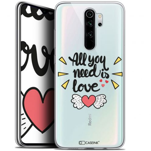 "Coque Gel Xiaomi Redmi Note 8 PRO (6.5"") Extra Fine Love - All U Need Is"