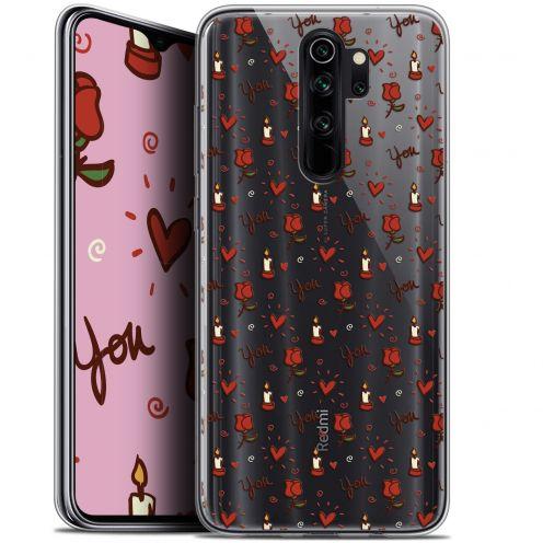 "Coque Gel Xiaomi Redmi Note 8 PRO (6.5"") Extra Fine Love - Bougies et Roses"