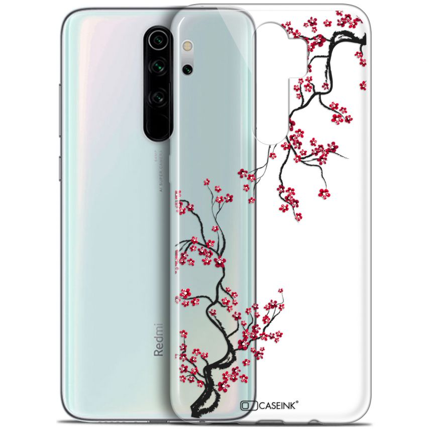 "Coque Gel Xiaomi Redmi Note 8 PRO (6.5"") Extra Fine Summer - Sakura"