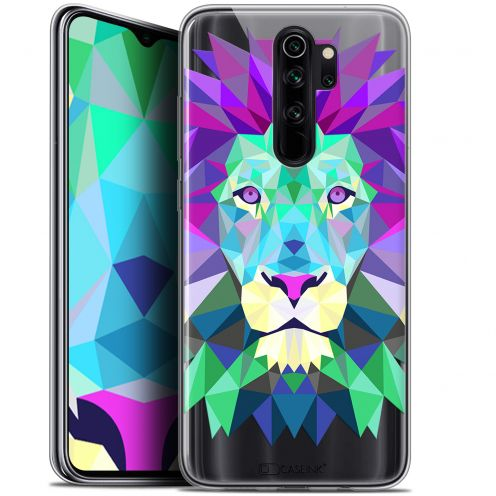 "Coque Gel Xiaomi Redmi Note 8 PRO (6.5"") Extra Fine Polygon Animals - Lion"