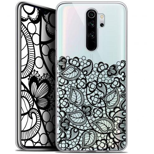 "Coque Gel Xiaomi Redmi Note 8 PRO (6.5"") Extra Fine Spring - Bas dentelle Noir"