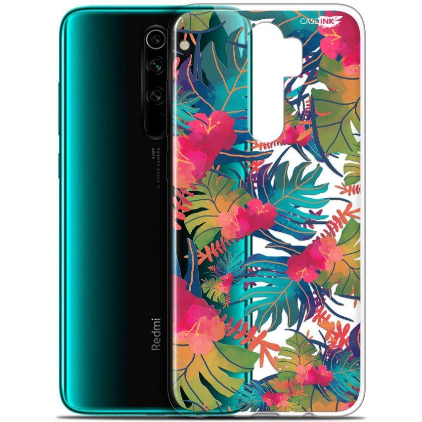 "Coque Gel Xiaomi Redmi Note 8 PRO (6.5"") Extra Fine Motif - Couleurs des Tropiques"