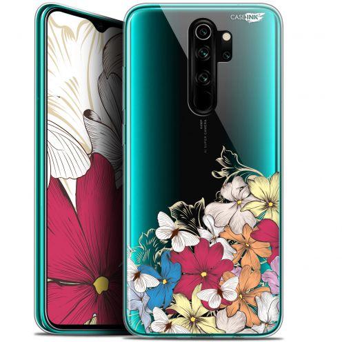 """Coque Gel Xiaomi Redmi Note 8 PRO (6.5"""") Extra Fine Motif - Nuage Floral"""