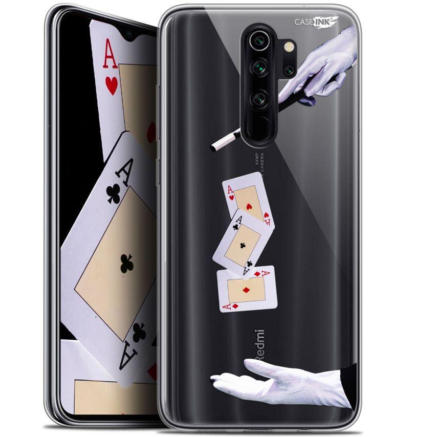 """Coque Gel Xiaomi Redmi Note 8 PRO (6.5"""") Extra Fine Motif - Cartes Magiques"""