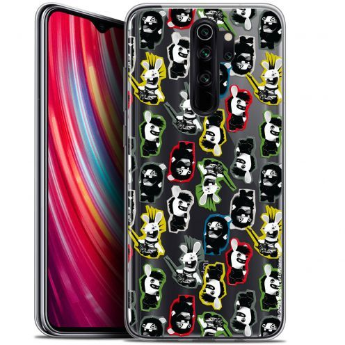 "Coque Gel Xiaomi Redmi Note 8 PRO (6.5"") Extra Fine Lapins Crétins™ - Punk Pattern"
