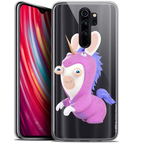 "Coque Gel Xiaomi Redmi Note 8 PRO (6.5"") Extra Fine Lapins Crétins™ - Licorne"