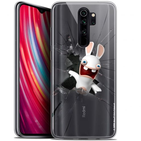 "Coque Gel Xiaomi Redmi Note 8 PRO (6.5"") Extra Fine Lapins Crétins™ - Breaking Glass"