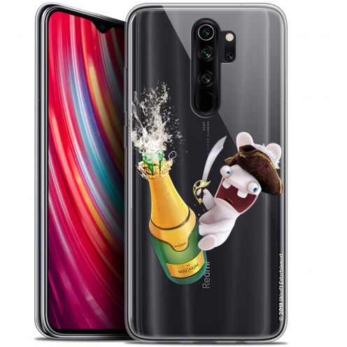 "Coque Gel Xiaomi Redmi Note 8 PRO (6.5"") Extra Fine Lapins Crétins™ - Champagne !"