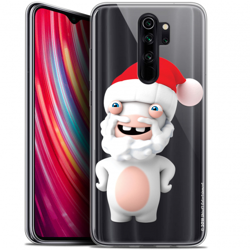 "Coque Gel Xiaomi Redmi Note 8 PRO (6.5"") Extra Fine Lapins Crétins™ - Lapin Noël"