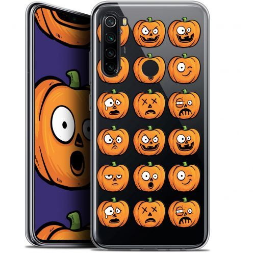 "Coque Gel Xiaomi Redmi Note 8 (6.3"") Extra Fine Halloween - Cartoon Citrouille"