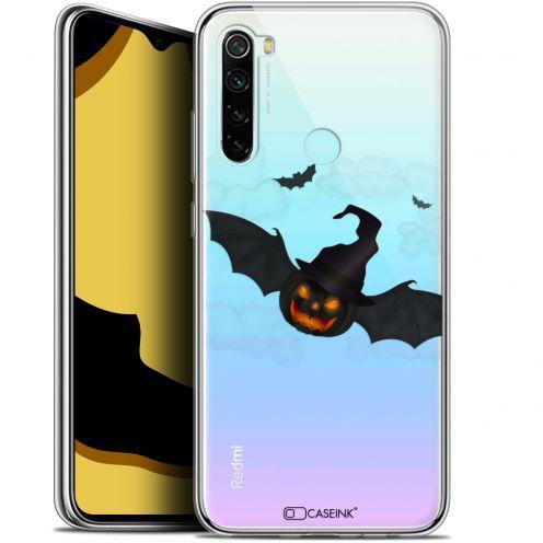 "Coque Gel Xiaomi Redmi Note 8 (6.3"") Extra Fine Halloween - Chauve Citrouille"