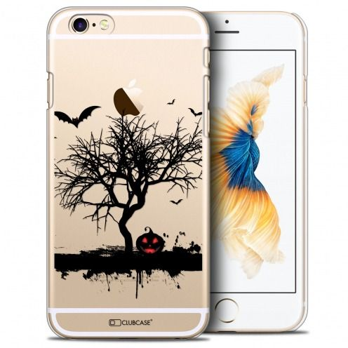 Coque Crystal iPhone 6/6s Plus (5.5) Extra Fine Halloween - Devil's Tree