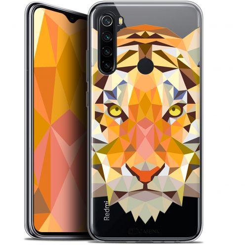 "Coque Gel Xiaomi Redmi Note 8 (6.3"") Extra Fine Polygon Animals - Tigre"