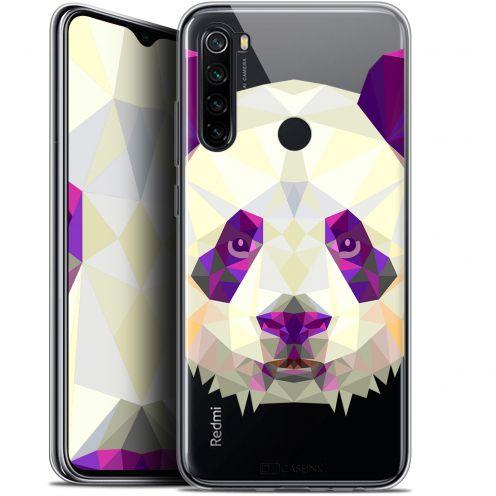 """Coque Gel Xiaomi Redmi Note 8 (6.3"""") Extra Fine Polygon Animals - Panda"""