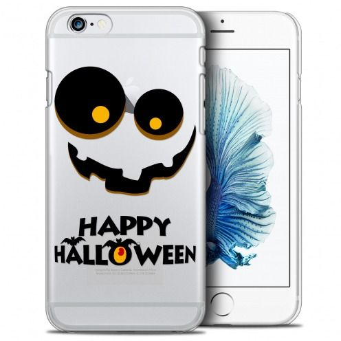 Coque Crystal iPhone 6/6s (4.7) Extra Fine Halloween - Happy