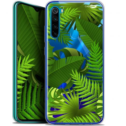 "Coque Gel Xiaomi Redmi Note 8 (6.3"") Extra Fine Motif - Plantes des Tropiques"