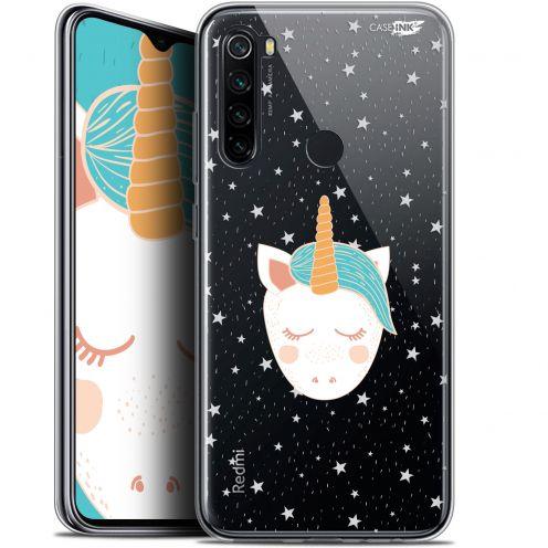 "Coque Gel Xiaomi Redmi Note 8 (6.3"") Extra Fine Motif - Licorne Dors"