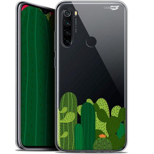 "Coque Gel Xiaomi Redmi Note 8 (6.3"") Extra Fine Motif - Cactus"