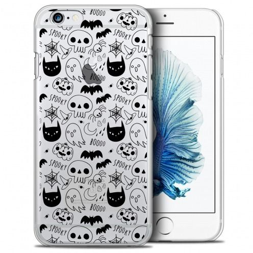Coque Crystal iPhone 6/6s Plus (5.5) Extra Fine Halloween - Spooky