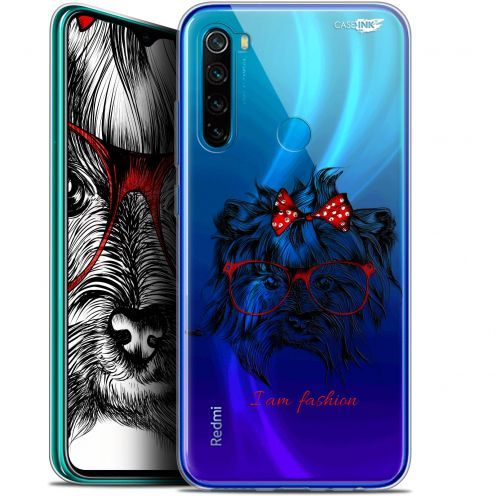 "Coque Gel Xiaomi Redmi Note 8 (6.3"") Extra Fine Motif - Fashion Dog"
