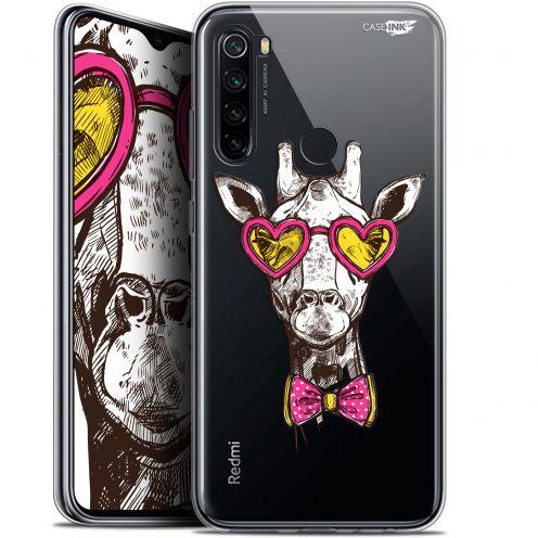 "Coque Gel Xiaomi Redmi Note 8 (6.3"") Extra Fine Motif - Hipster Giraffe"