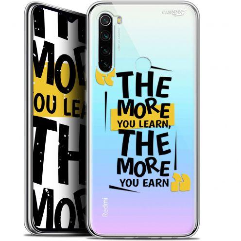 "Coque Gel Xiaomi Redmi Note 8 (6.3"") Extra Fine Motif - The More You Learn"