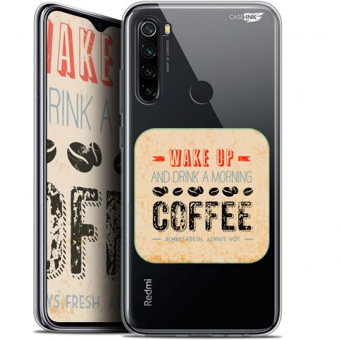 "Coque Gel Xiaomi Redmi Note 8 (6.3"") Extra Fine Motif - Wake Up With Coffee"