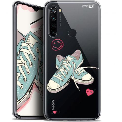 "Coque Gel Xiaomi Redmi Note 8 (6.3"") Extra Fine Motif - Mes Sneakers d'Amour"