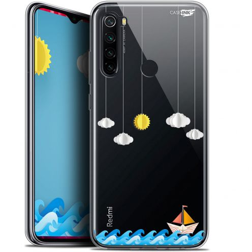 "Coque Gel Xiaomi Redmi Note 8 (6.3"") Extra Fine Motif - Petit Bateau en Mer"