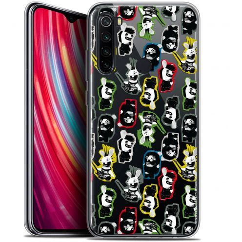 "Coque Gel Xiaomi Redmi Note 8 (6.3"") Extra Fine Lapins Crétins™ - Punk Pattern"