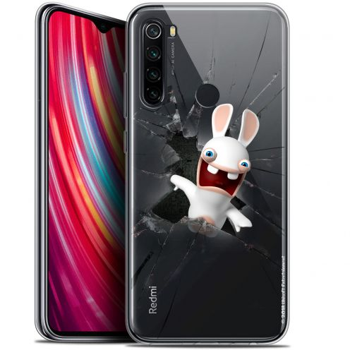 "Coque Gel Xiaomi Redmi Note 8 (6.3"") Extra Fine Lapins Crétins™ - Breaking Glass"