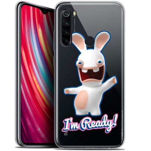 "Coque Gel Xiaomi Redmi Note 8 (6.3"") Extra Fine Lapins Crétins™ - I'm Ready !"