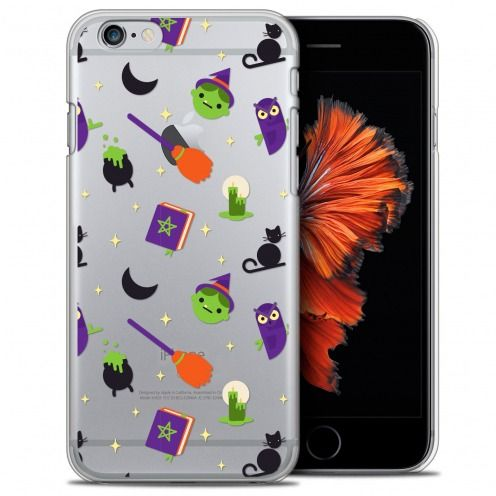 Coque Crystal iPhone 6/6s (4.7) Extra Fine Halloween - Witch Potter