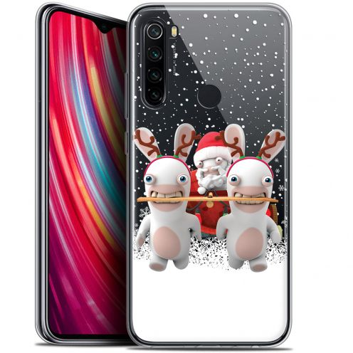 "Coque Gel Xiaomi Redmi Note 8 (6.3"") Extra Fine Lapins Crétins™ - Lapin Traineau"