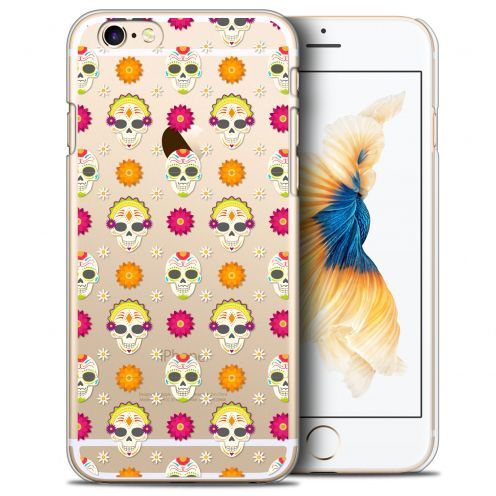 Coque Crystal iPhone 6/6s Plus (5.5) Extra Fine Halloween - Skull Halloween