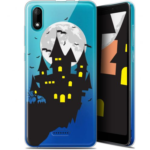 "Coque Gel Wiko Y60 (5.45"") Extra Fine Halloween - Castle Dream"