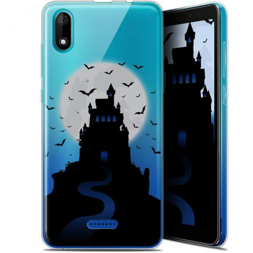 "Coque Gel Wiko Y60 (5.45"") Extra Fine Halloween - Castle Nightmare"