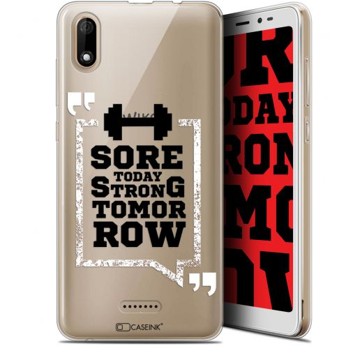 """Coque Gel Wiko Y60 (5.45"""") Extra Fine Quote - Strong Tomorrow"""