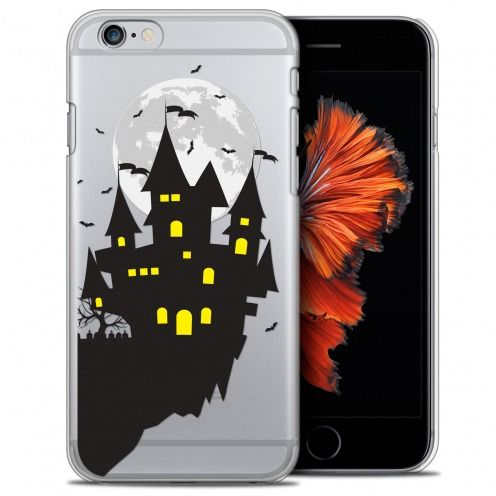 Coque Crystal iPhone 6/6s (4.7) Extra Fine Halloween - Castle Dream