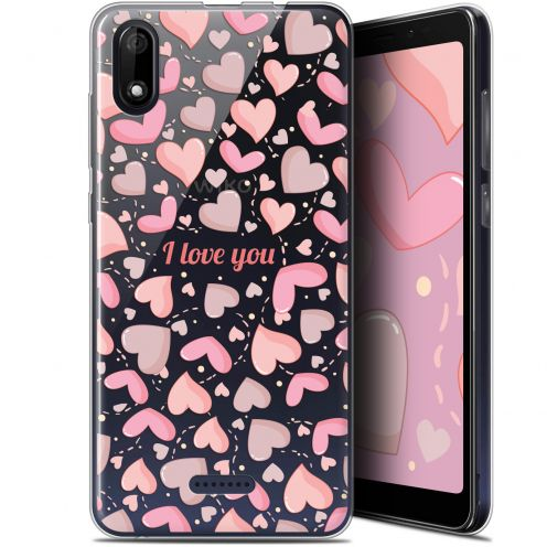 "Coque Gel Wiko Y60 (5.45"") Extra Fine Love - I Love You"