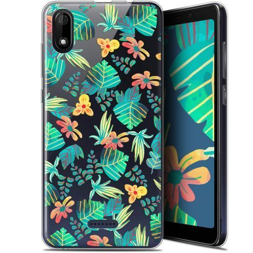 "Coque Gel Wiko Y60 (5.45"") Extra Fine Spring - Tropical"