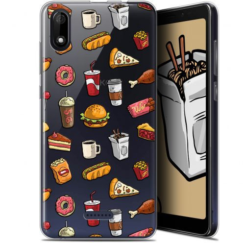 "Coque Gel Wiko Y60 (5.45"") Extra Fine Foodie - Fast Food"