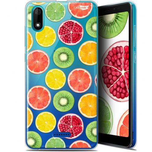 "Coque Gel Wiko Y60 (5.45"") Extra Fine Motif - Fruity Fresh"