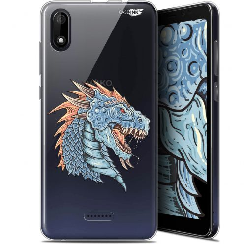 "Coque Gel Wiko Y60 (5.45"") Extra Fine Motif - Dragon Draw"